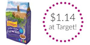 Purina Friskies Cat Food Only $1.14 at Target!