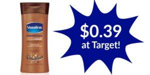 Vaseline Intensive Care Lotion $0.39 at Target!