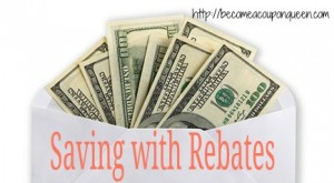 Saving Money with Rebates