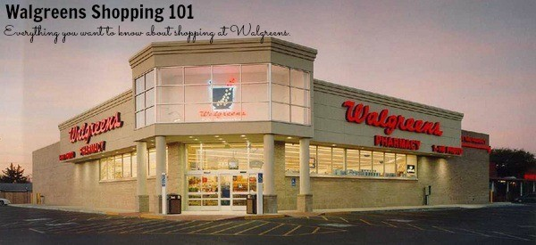 walgreens shopping 101