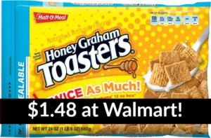 Walmart: Malt O Meal Bagged Cereal Only $1.48!