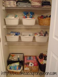 bathroom stockpile