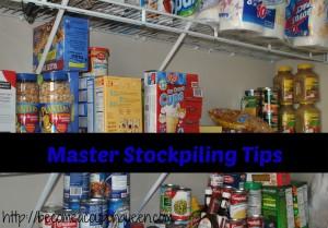Master Stockpiling Tips