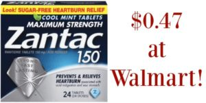 Walmart: Zantac Tablets Only $3.58!