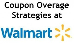 Coupon Overage Strategies at Walmart