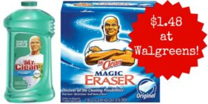 Walgreens: Mr. Clean Products Only $1.48!
