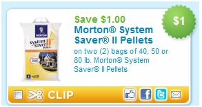 Morton System Saver Pellets Coupon Become A Coupon Queen