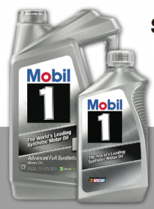 Autozone 10 1 mobil jug or 5 quarts motor oil become for Autozone motor oil specials