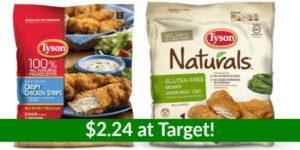 Target – Tyson Frozen Chicken Bags $2.24 ea!