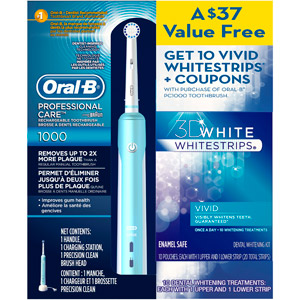 product ratings - Oral-B ($25 Mail In Rebate Available) SmartSeries Electric Toothbrush, Whit.