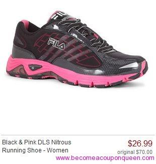 FILA^ Footwrap High-Performance Running Shoes - Women