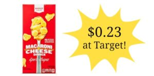 Target: Market Pantry Macaroni & Cheese Only $0.23!