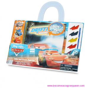 Get Disney Cars Color and Create Paint Set for only $0.75 each!