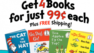 Get 4 Dr. Seuss Books and a Tote Bag for $3.96 Shipped!