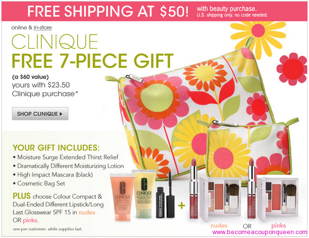 macy s free 60 value clinique gift set with any 23 50 purchase