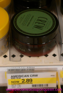 Be On The Lookout For This Hot Mark Down At Target I Found American Crew Forming Cream