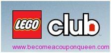 FREE 2 year subscription to LEGO Club or LEGO Club Jr. Magazine!