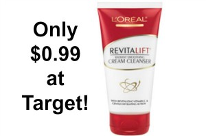 Target: L'Oreal Revitalift Cleansers Only $0.99!