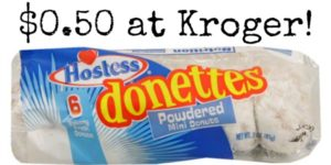 Kroger – Hostess Donuts Only $0.50!