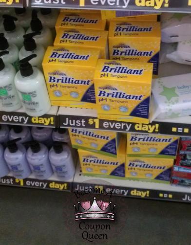 dollar general free rephresh tampons