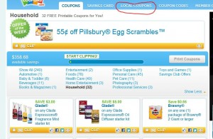 Coupons.com Changes – How to Get Zip Code Specific Coupons With New Layout