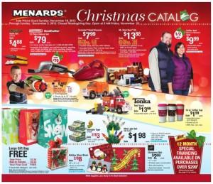 Menard's Christmas Catalog – Prices Good Through 12/2!