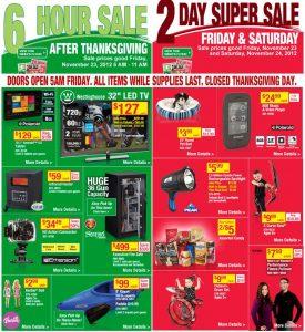Menards 6 hour after Thanksgiving Sale & 2 Day Super Sale – $2.99 Barbies!