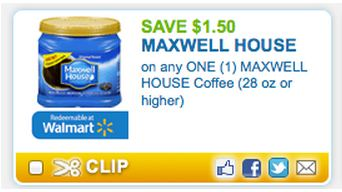 picture regarding Maxwell House Coupons Printable titled Fresh $1.50/1 Maxwell Area Espresso Coupon - Come to be A Coupon Queen