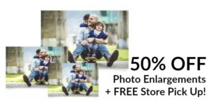 Walgreens Photos: 50% OFF Photo Enlargements!