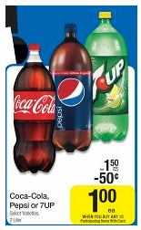 FREE Pepsi 2 liters at Dillons and Kroger