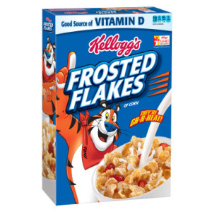 Target: Kellogg's Frosted Flakes Cereal as low as $0.21!