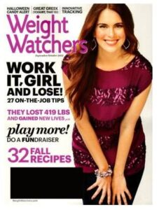 Weight Watchers magazine subscription for only $4.50!