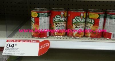chey boyardee target deal