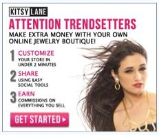 Kitsy Lane – Set up Your Own Online Fashion Boutique for FREE and Earn Money!