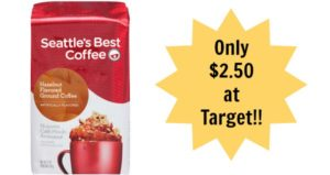Target: Seattle's Best Coffee Only $2.50!