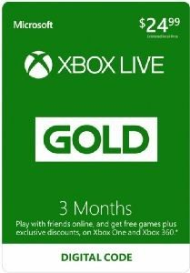XBox Live Gold Membership 3 Months Only $9.99 (Reg. $29.99)!