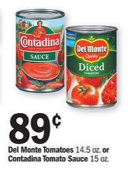 del monte tomatoes meijer