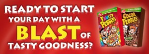 $1 OFF Post Pebbles Cereal Coupon!