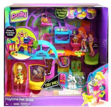 polly pocket playtime pet shop
