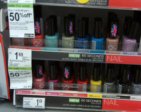 rimmel nail walgreens