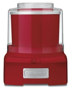 Cuisinart ICE-21 Frozen Yogurt, Ice Cream and Sorbet Maker (in Red) 73% off at $29.99!