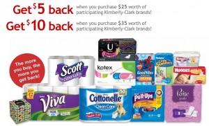 $10 Kimberly-Clark Rebate!
