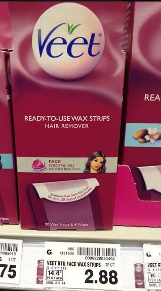 veet wax strips