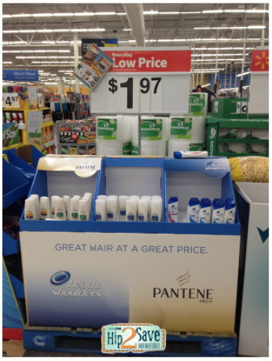 Walmart: Head and Shoulders or Pantene Products as low as FREE + Overage!