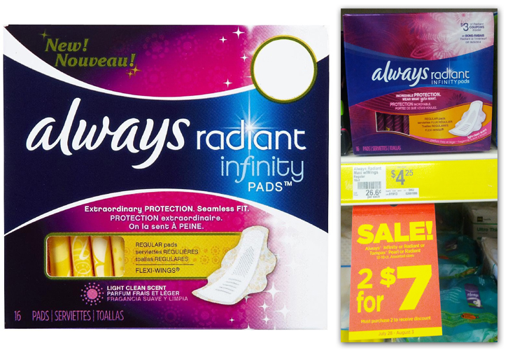 Use these coupons for Always and save on all their feminine products, including pads and panty liners. Always has a wide variety of pads for all needs and comforts and with these manufacturer coupons you can save on all their options. Be sure to take notice of Always' options for .