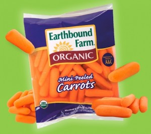 FREE Earthbound Farm Baby Carrots at Meijer!