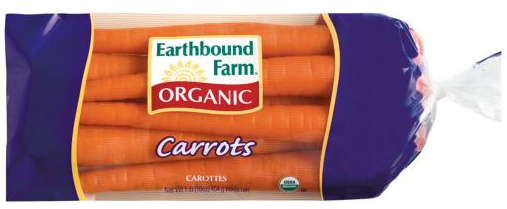 free earthbound farm carrots
