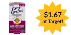 Target: Little Remedies for Noses Only $1.67!