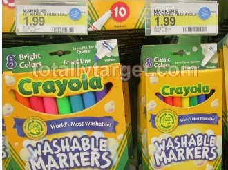 $1/1 Crayola Washable Markers Coupon = Under $1 at Walmart and Target! (Coupon Reset for November)