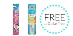 FREE Toothbrushes at Dollar Tree!